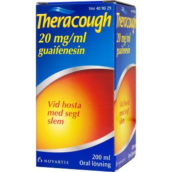Theracough Oral lösning 20mg/ml 200ml