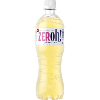 Saft Fläder Citron 800ml Zeroh