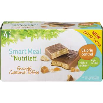 Smooth Caramel bar Viktkontroll 4-p Nutrilett