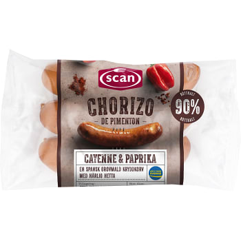 Chorizo de pimenton 240g Scan