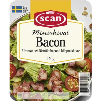Bacon Miniskivat 140g Scan
