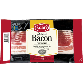 Bacon 140g Scan