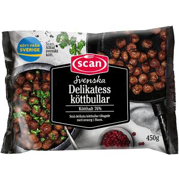 Köttbullar Delikatess 450g Scan