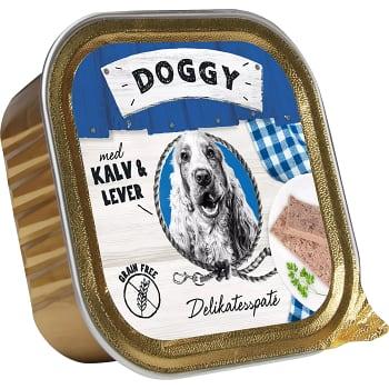 Hundmat Delikatesspaté med Kalv & lever 150g Doggy feelgood