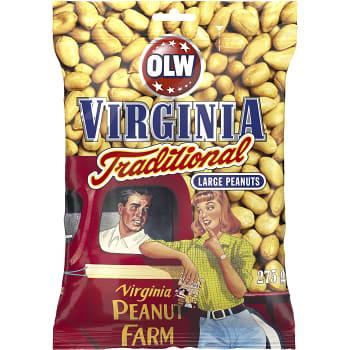 Virginia traditional Jordnötter 275g OLW