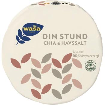 Knäckebröd Din Stund Chia & havssalt 260g Wasa
