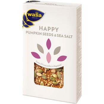Knäckebröd Happy Pumpkin seed & sea salt 150g Wasa