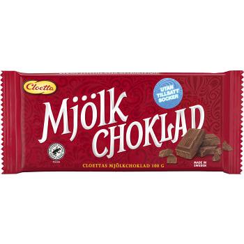 Mjölkchoklad Sockerfri 100g Cloetta