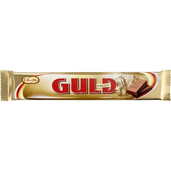 Guldnougat Dubbel 50g Cloetta