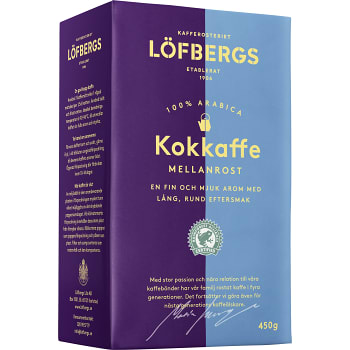 Kokkaffe Mellanrost 450g Löfbergs