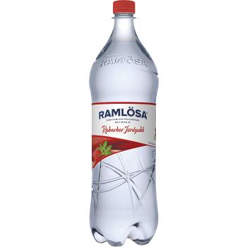 Vatten Kolsyrad Rabarber & jordgubb 1,5l Ramlösa
