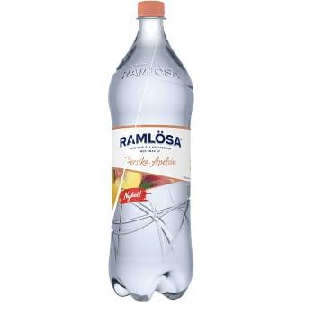 Vatten Kolsyrad Persika/Apelsin 1,5l Ramlösa