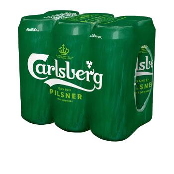 Öl 2,8% 50cl 6-p Carlsberg