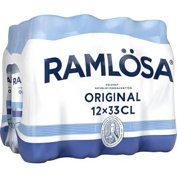 Vatten Kolsyrad Original 33cl 12-p Ramlösa