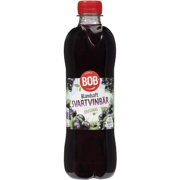 Blandsaft Svarta vinbär 500ml BOB