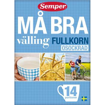 Må Bra Fullkornsvälling Osockrad 450g Semper