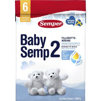 BabySemp2 Från 6m 800g Semper