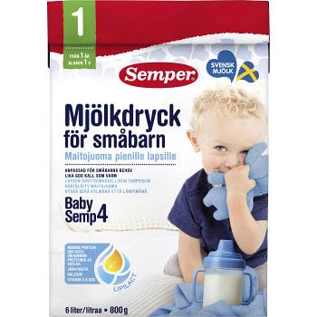 Mjölkdryck Från 1år 800g Semper
