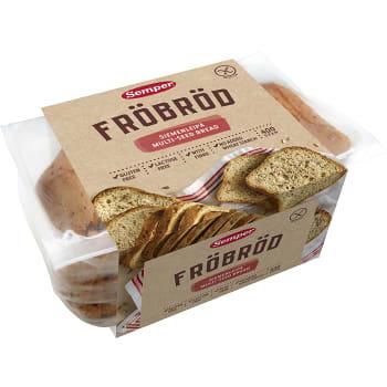 Fröbröd Gluten- & laktosfri 400g 400g Semper