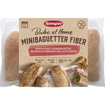 Minibaguette Fiber Glutenfri 300g Semper