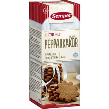 Pepparkakor Orginal Glutenfri 150g Semper