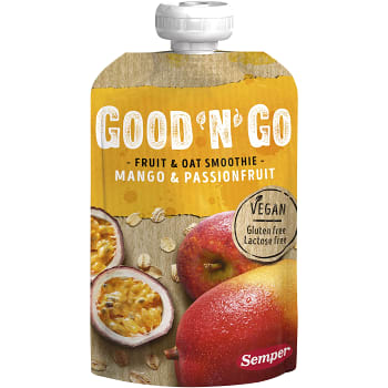 Fruit & oat Smoothie Mango passion 120g Semper