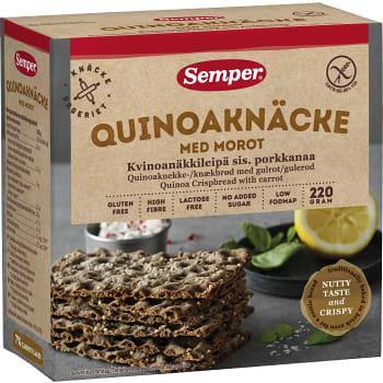 Quinoaknäcke Glutenfri 220g Semper