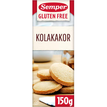 Kolakakor Glutenfri 150g Semper
