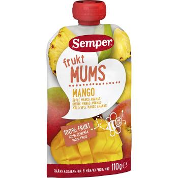 Fruktmums Mango Från 6m 110g Semper