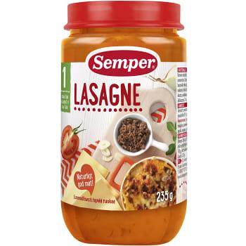 Lasagne Från 1år 235g Semper