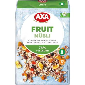 Müsli Fruit 750g AXA
