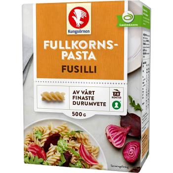 Fusilli Fullkorn 500g Kungsörnen