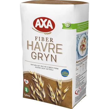 Havregryn Fiber 1,5kg AXA