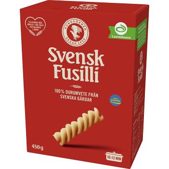 Pasta Fusilli 450g Kungsörnen