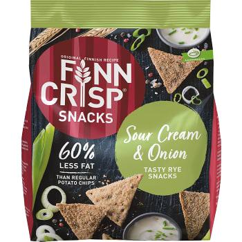 Kex Rye snack Sour creme & onion 150g Finn crisp