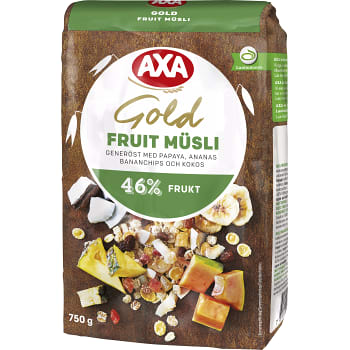 Müsli Gold Fruit 750g AXA