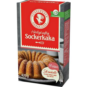 Sockerkaka 420g Kungsörnen