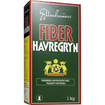 Fiberhavregryn 1kg Gyllenhammars
