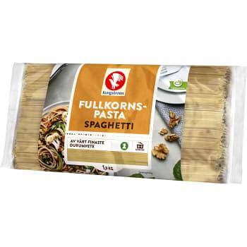 Fullkornspasta Spaghetti 1,9kg Kungsörnen