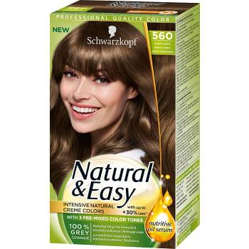 560 Ljusbrun Hårfärg 1-p Natural & Easy Schwarzkopf