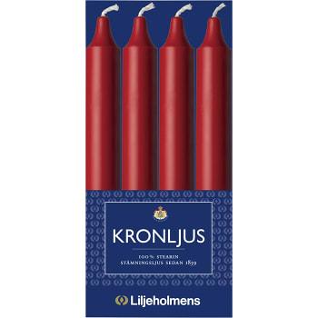 Kronljus Röd 4-p Liljeholmens