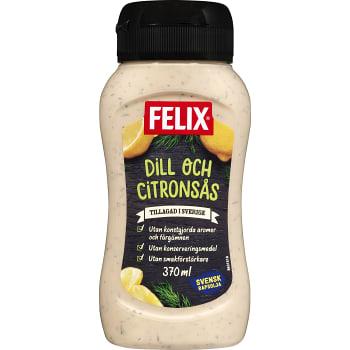 Dill & Citronsås 370ml Felix