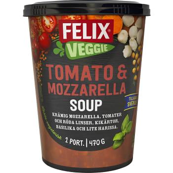 Färdigmat Soppa Tomato & mozzarella 470g Felix
