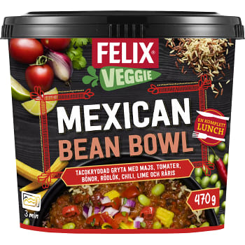 Mexican bean bowl 470g Felix
