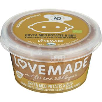 Gryta m potatis & biff  Från 10m 180g KRAV Lovemade