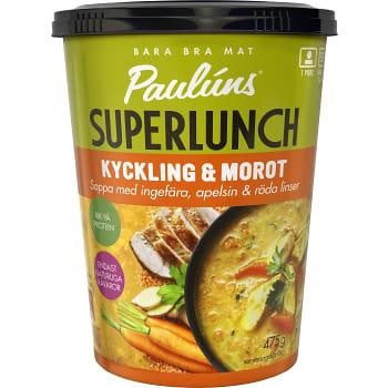 Kyckling & morotssoppa 475g Pauluns