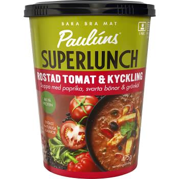 Färdigmat Soppa Rostad tomat & kyckling 475g Pauluns