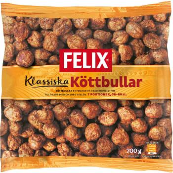 Köttbullar Klassiska Fryst 700g Felix