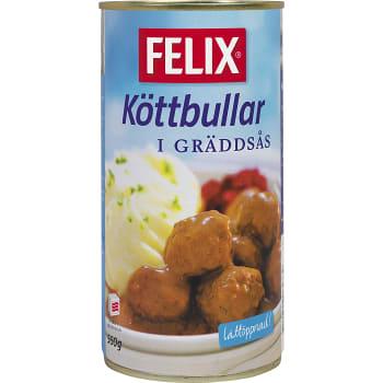 Köttbullar i gräddsås 560g Felix