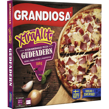 Pizza X-tra allt Gudfadern 350g Grandiosa